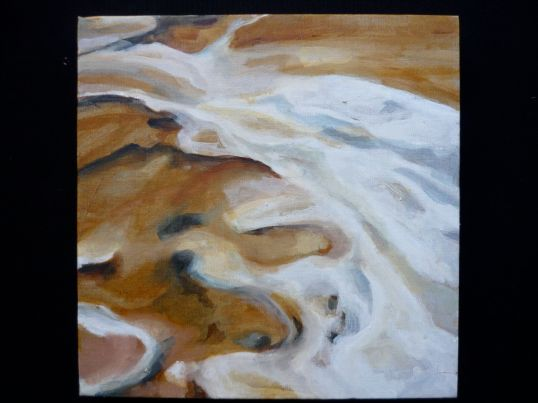 Oil on linen LAKE EYRE