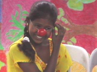 Delhi drama clowning Jaipur girl_2