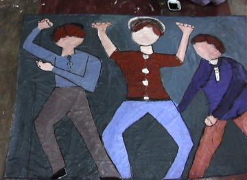 Mam art labour paintings _2