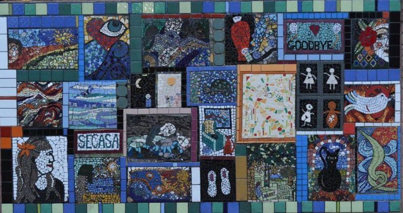 SECASA Mosaic wall