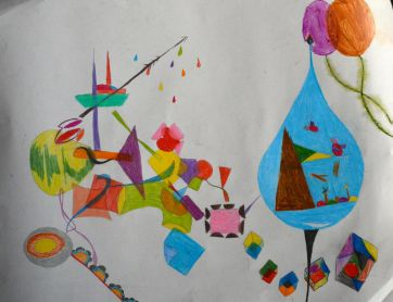 Unatti interpretation before paint