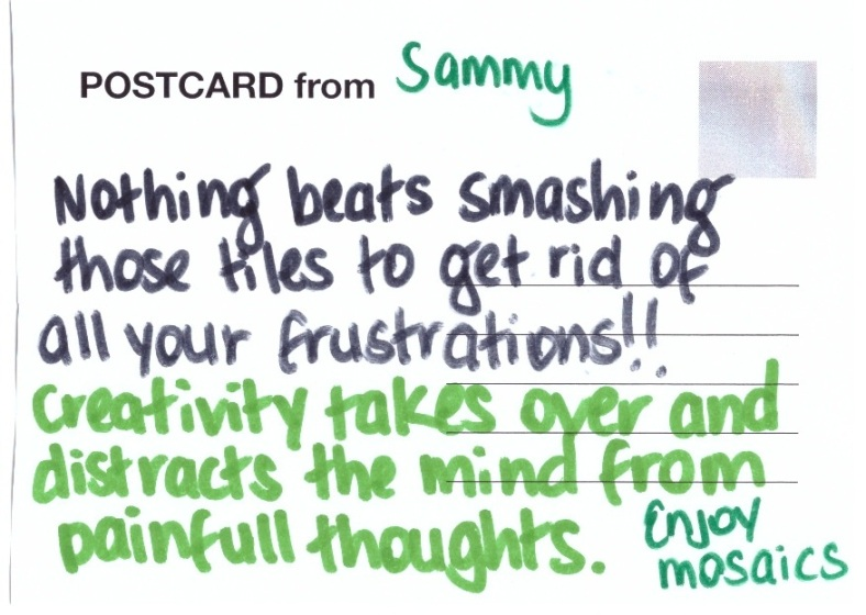 postcards from the artgroup Sammy