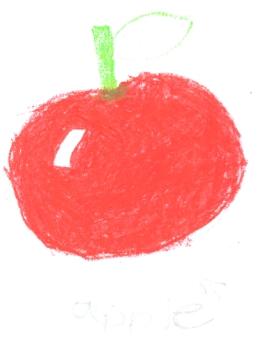 Shiny apple