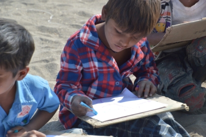 children love the opportunity to learn and draw