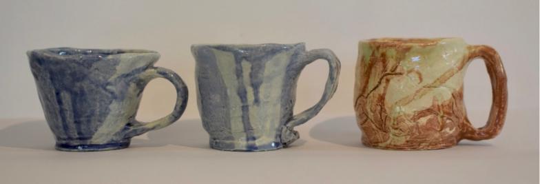 Justine's ceramic mugs